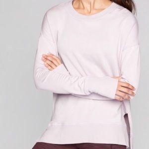 athleta | pale pink pullover